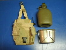 MOLLE II  DESERT 1QT CANTEEN , COVER AND CUP