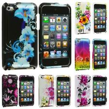 Color Flower Design Hard Skin Case Cover Accessory for iPod Touch 4th Gen 4G 4