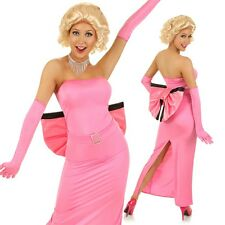 Adult 50s Hollywood Celebrity Costume Marilyn Monroe Fancy Dress Party Outfit