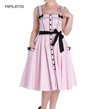 Hell Bunny Rockabilly Pinup MARTIE 50s Dress Polka Dot   Pink All Sizes