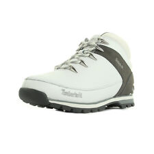 Bottines Timberland homme Euro Sprint Hiker taille Blanc Blanche Cuir Lacets