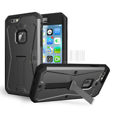New Tank Armor Stand Case Ultra Hard Shockproof Cover For Apple iPhone 6/6S Plus