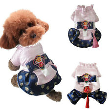Dog Coat 4 Legs Skirt Festival Pet Supplies Clothes Apparel Puppy Costume Jacket