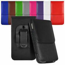 Vertical Belt Small Tab Pouch Case For Motorola Gleam+ WX308