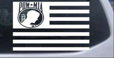 American Flag Pow Mia Car or Truck Window Laptop Decal Sticker
