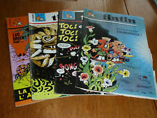 4 Tintin Comics 37 to 40 1968  in French