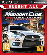 PS3 Game Midnight Club Los Angeles Complete Edition NEW