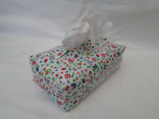 HANDMADE OILCLOTH /PVC BABY WIPES HOLDER/CASE - CATH KIDSTON LADY BIRD DITSY