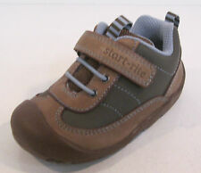 SALE Boys Start Rite Brown leather shoes WOBBLE UK INFANT SIZE 4
