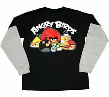 Angry Birds Classic Long Sleeve T Shirt Boy Size  XL18