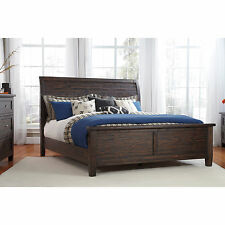 Signature Design by Ashley Trudell Dark Brown Panel Bed