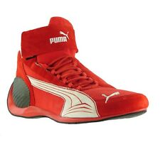 NEW PUMA Trionfo Mid Pro II Shoes Unisex Kart Boots Motorsport Red 301237 03