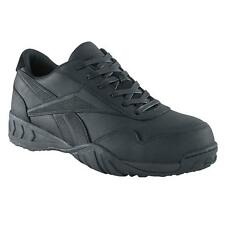 Reebok Work Men's BEMA COMPOSITE Toe Casual Athletic Oxford BLACK WIDE