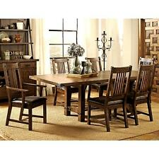 Rimon Solid Wood Mission Style Rustic Dining Set
