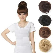 Stylish Women Girl Pony Tail Scrunchie Clip in Hair Bun Hairpiece Hair Extension