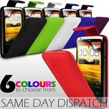 LEATHER FLIP CASE COVER & SCREEN PROTECTOR FOR HTC ONE X