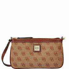 Dooney & Bourke Madison Signature Large Slim Wristlet