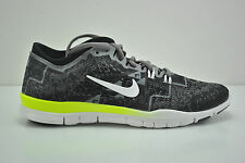 Womens Nike Free 5.0 TR FIT 4 PRT Running Shoes Size 5.5 Black White 629832 008