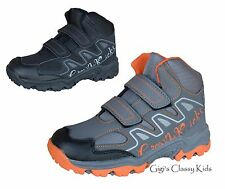 New Boys High Top Sneakers Tennis Shoes Kids Youth Toddler Athletic Hiking Boots
