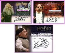 Warwick Davis Goblin Prof Flitwick PS SS, PoA Auto Card Harry Potter Autograph