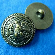 10 Sewing Buttons Craft Round Eagle Crown Shank DIY Vintags Like Lots Accessory