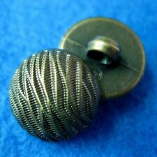 10 Sewing Buttons Craft Round Shiny Wave Shank Diy Vintags Like Lots Accessory C