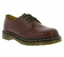 NEW Dr. Martens 1461 Smooth Shoes Women's Leather Lace Up Cherry Red 10085600