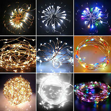 Battery Operated 20/30/40 LED String Fairy Lights Indoor/Outdoor Xmas