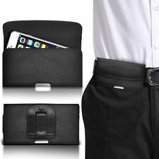 PU Leather Horizontal Belt Clip Pouch Case For ZTE Blade G V880G