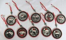 "Encore Group Metal 2.75"" Animal Puppies Kittens Christmas Ornaments: You Choose!"