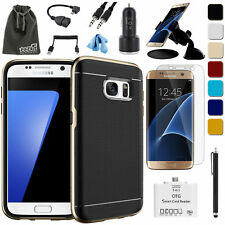 EEEKit for Galaxy S7/S7 Edge,Bumper Case,Screen Protector,Car Mount,OTG Cable