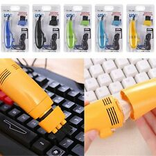 USB 2.0 Mini Vacuum Keyboard Cleaner Dust Collector Brush Laptop Computer PC
