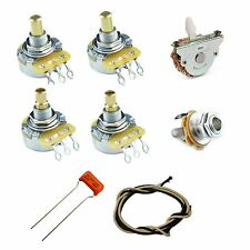 Telecaster 3-Way Electric Wiring Kit -CTS Pots Grigsby Orange Drop Vintage Wire