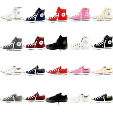 Womens Converse All Star Hi And Ox Chuck Taylors Trainers Sneakers All Sizes