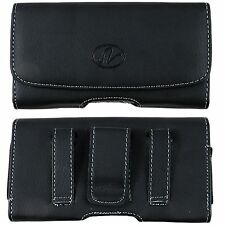 Leather Case Pouch Holster w/ Belt Loop, Clip Magnetic Closure For Alltel Phones