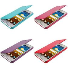Color Wallet Pouch Folio Case Cover for Samsung At&t Galaxy S2 II i9100 Attain