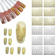 12 Sheets/Set 3D Design Nail Art Stickers Manicure Nail Polish Decals Tips DIY