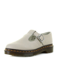 Womens Dr Martens Dm Polley Ivory Virginia Mary Jane Leather T Bar Shoes Sz Size