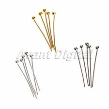 Wholesale Silver Plated Ball Head Eye Pins Jewelry Finding 20mm