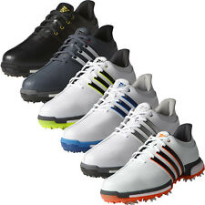Adidas Golf 2016 TOUR360 Boost Leather Golf Shoes - Wide Fitting