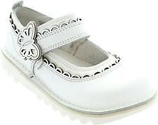 Kickers Kick Doli Girl's Single One Strap Flat Leather Butterfly Shoes New