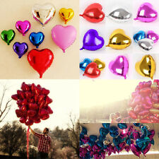 Wholesale 18'' Heart Foil Helium Balloons For Wedding Birthday Party Engagement