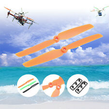 4 Pair 6030 ABS Plastic CW/CCW Prop Propeller for Mini RC Helicopter Aircraft J