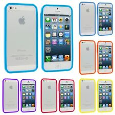 Color TPU Jelly Solid Gloss Bumper Case Skin Gel Cover for iPhone SE