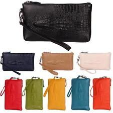 Women Crocodile Leather Handbag Small Purse Wallet Clutch Bag Mini Evening Bag