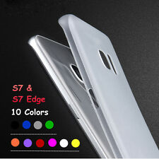 Ultra Thin Slim 0.3mm Clear PP Soft Case Cover For Samsung Galaxy S7 & S7 Edge