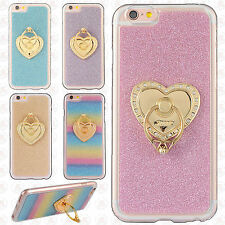 For Apple iPhone 6 / 6s Kickstand TPU CANDY Flexi Skin Case Cover Accessory