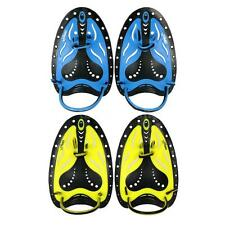 Pairs Adjustable Swimming Hand Paddles Fins Flippers Training Pool Diving U4N7
