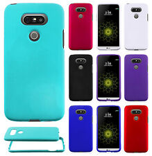 For LG G5 Rubberized HARD Protector Case Snap On Phone Cover Accessory
