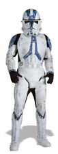 Boys Child Star Wars Deluxe Clone Trooper Costume Outfit W/ Mask
